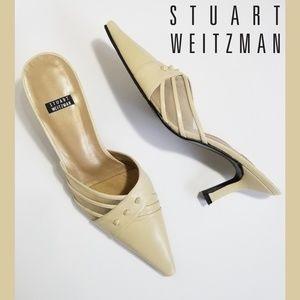 STUART WEITZMAN Vanilla Slide Heels
